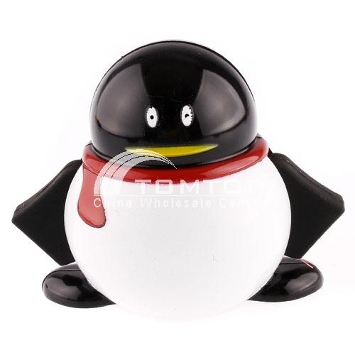 QQ alike 4 Port High Speed USB 2.0 HUB - black