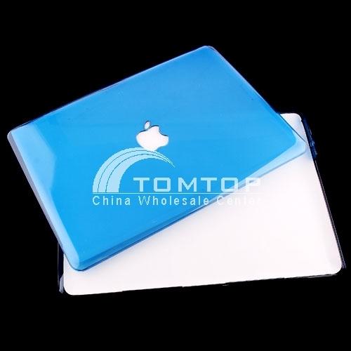 Crystal Case for 13.3'' Aluminum Unibody Macbook -- Blue