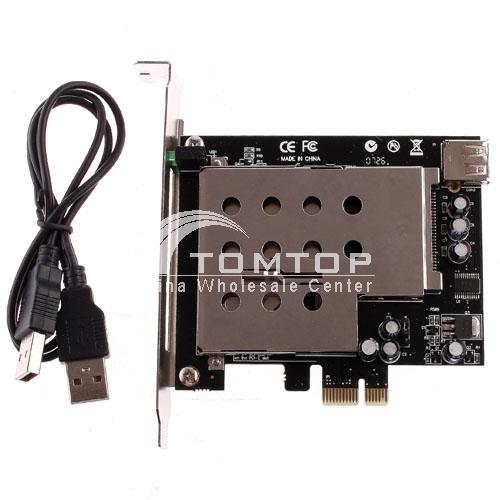 PCI-E to ExpressCard /34 /54 Card Adapter C629