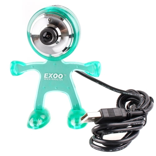 M039 Lovely 2.0 Mega USB Webcam - Green C742GR