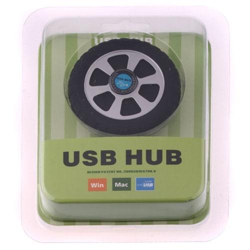 Tyre Sculpt USB 1.1/2.0 HI-Speed 4 Ports HUB