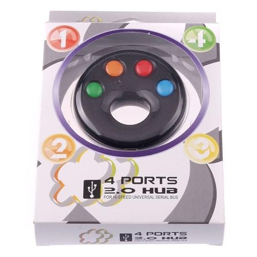 Roundness USB2.0 HI-Speed  4 Ports HUB