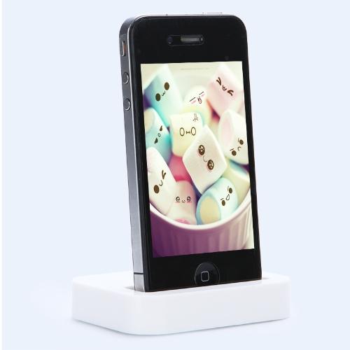 アップル iPhone 4 s は 3 G ・ 3 gs/4 G iPod 用ドック充電器