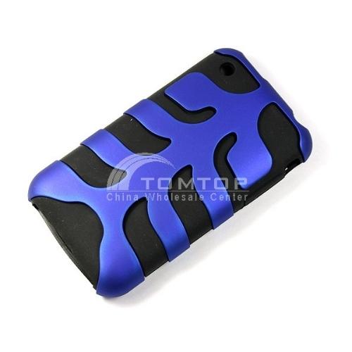 Brand New Unique fish bone silicone case for iphone 3G PA113-BL