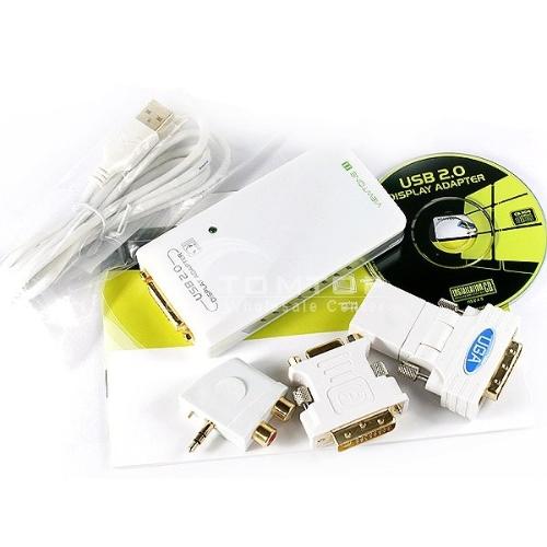 Brand New USB2.0 UGA multiple display adapter