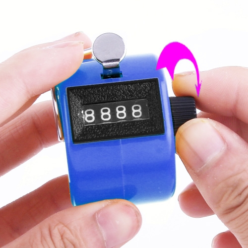 Manual Handheld Number Tally Counter Clicker