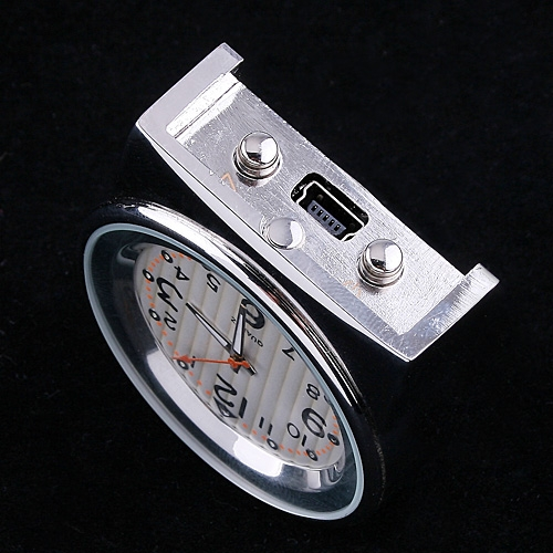 4GB Mini DVR Spy Hidden Camera Clock HD Video Audio Recorder