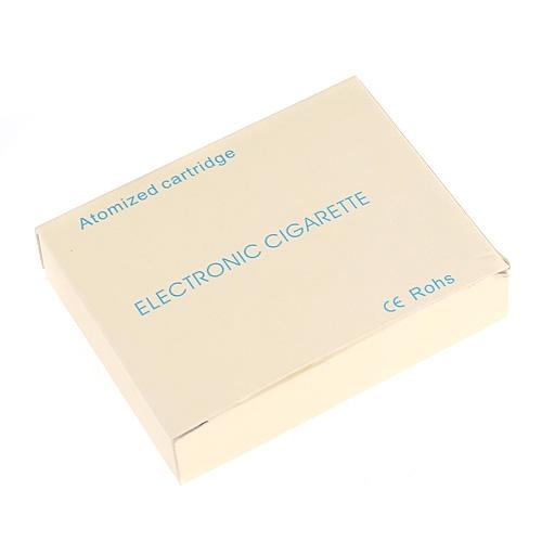 10pcs Super Electronic Cigarette Atomized Cartridge Box -Orange