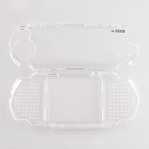 PSP 3000 2000 Li-po Charge Battery Crystal Case Kit-BL