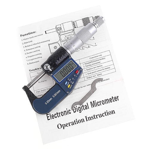 Elektronisch Digital Mikrometer