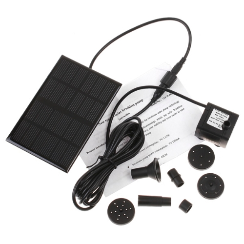 Насос солнечных батареях