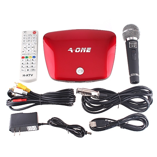 Mini KTV Home Theater Karaoke HD Player Speaker DJ Mp4 500G