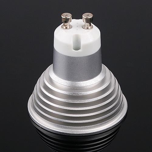 3 LEDs Light Bulb GU10 Cold White 180LM