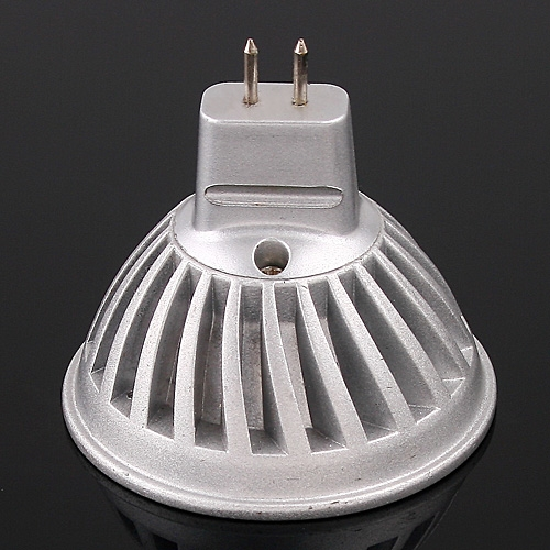 1*3W LEDs Light Bulb MR16 Warm White 120LM