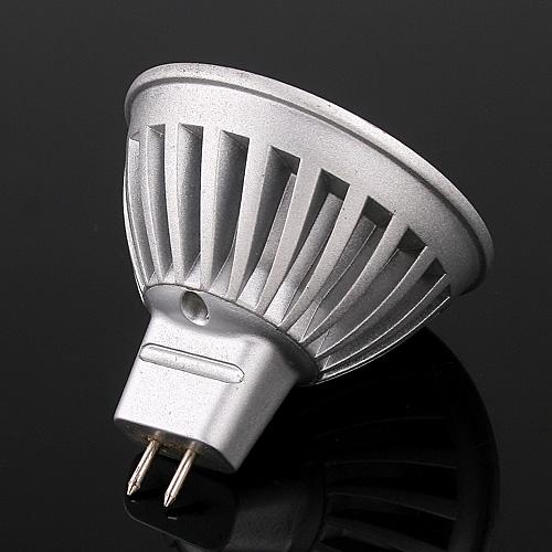 1*3W LEDs Light Bulb MR16 Natural White 105LM