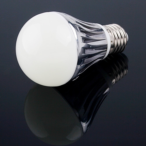 3*2W LEDs Light Screw Bulb E27 Cold White 250LM