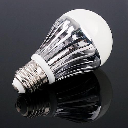 5*1W LEDs Light Screw Bulb E27 Cold White 320LM