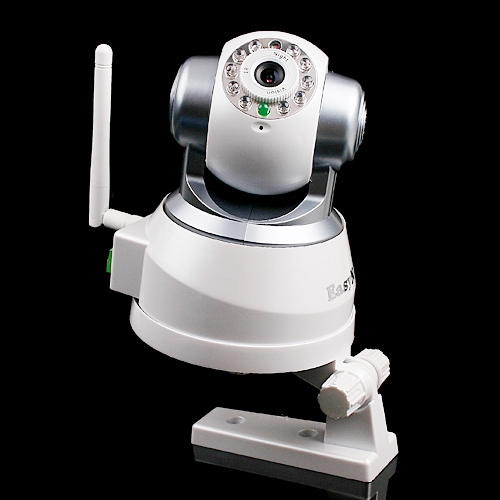 EasyN Wireless IP Camera LED Nightvision IR WiFi PC/iPhone/iPad/3G Mobile