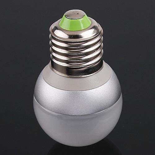 G45 1*2W LEDs Light Screw Bulb E27 Cold White 100LM