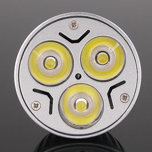 Bright 3*1W LEDs Light Bulb GU10 Warm White 150LM