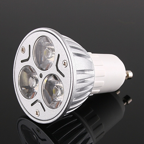 Bright 3*1W LEDs Light Bulb GU10 Cold White 150LM