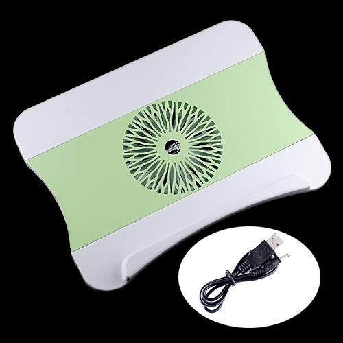 c-pad ABS Laptop Notebook LED Cooling Pad with Drawer