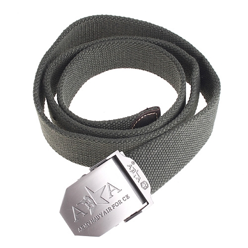 Military Police Casual Unisex Canvas Belt Army Green 40