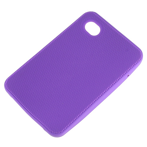 Silicon Skin Case for Samsung Galaxy Tab P1000 Purple