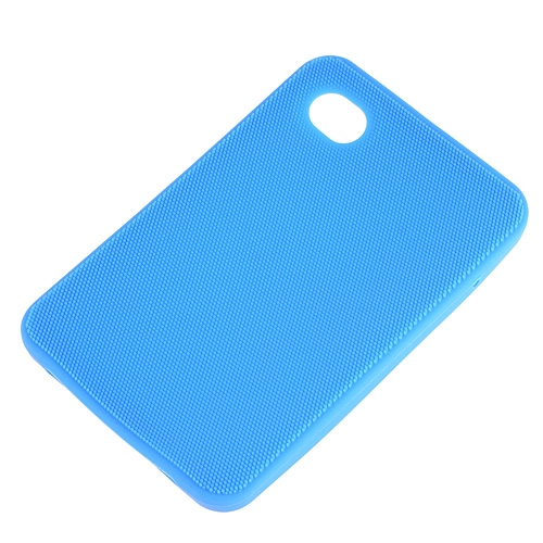Silicon Skin Case for Samsung Galaxy Tab P1000 Blue