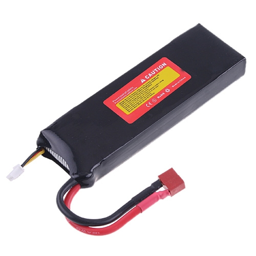 7.4V 30C 5000mAh Rechargeable Li-Poly Battery for 1:10 RC Car/Boat