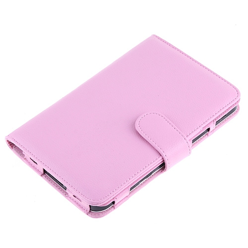 Pink Leather Case Cover for Samsung Galaxy Tab P1000