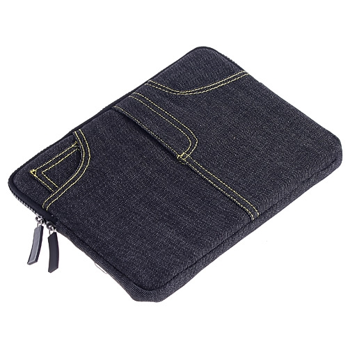 Cool Blue Jean Jeans Sleeve Bag Case for iPad 2