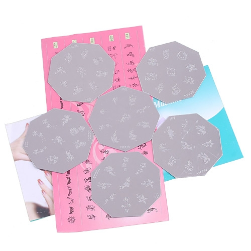 DIY Nail Art print Pattern Printing Machine Stamp Tool Set