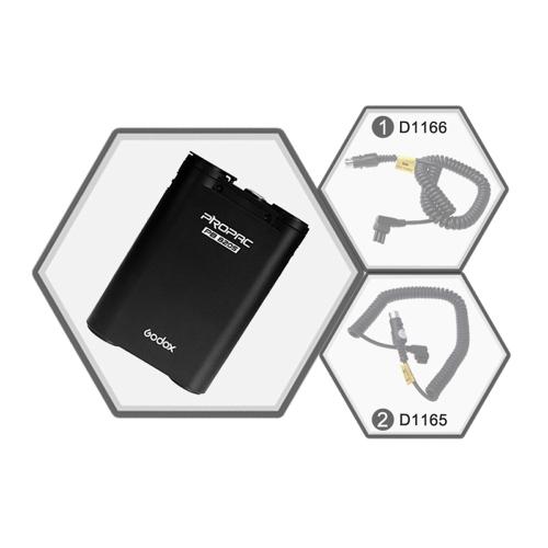 Źródło Godox PB820S 2000mAh External Battery Pack Lampa błyskowa Canon Speedlite firmy Nikon