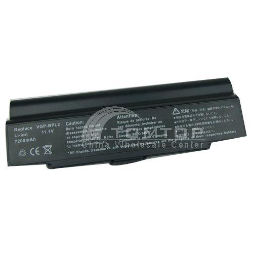 Battery for Sony notebook - BPL2 11.1V 7200mAh