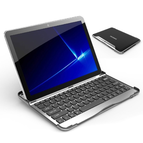 Aluminum Bluetooth Keyboard Case Cover with Stand for Samsung Galaxy Tab 10.1