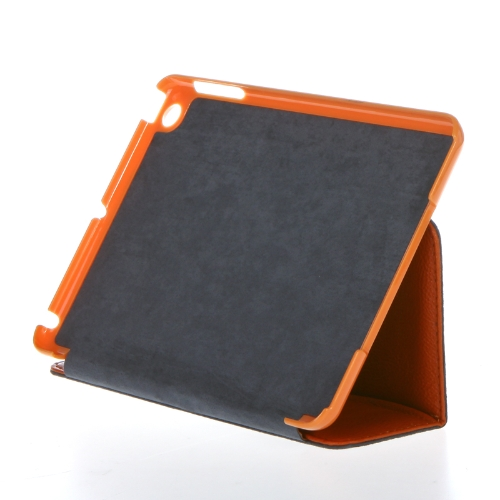 PU Leather Smart Case Skin Magnetic Cover Stand for Apple iPad Mini Tablet Orange