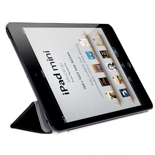 Smart Case Cover Stand for Apple iPad Mini Sleep/ Wake Black