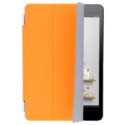 Inteligente caso cobrir Stand para Apple iPad Mini dormir / acordar laranja