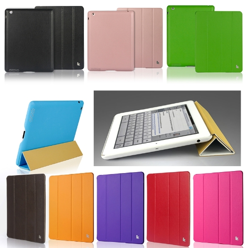 Smart-Cover-Protective-Case-Magnetic-Stand-for-New-iPad-432-Wake-upSleep-Blue