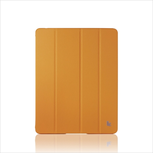 Inteligente tampa protetora caso magnético defende novo iPad 4/3/2 Wake-up/Sleep laranja