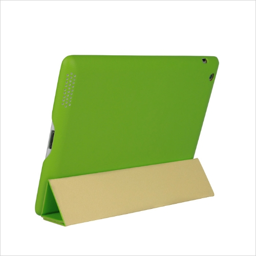 Smart-Cover-Protective-Case-Magnetic-Stand-for-New-iPad-432-Wake-upSleep-Green