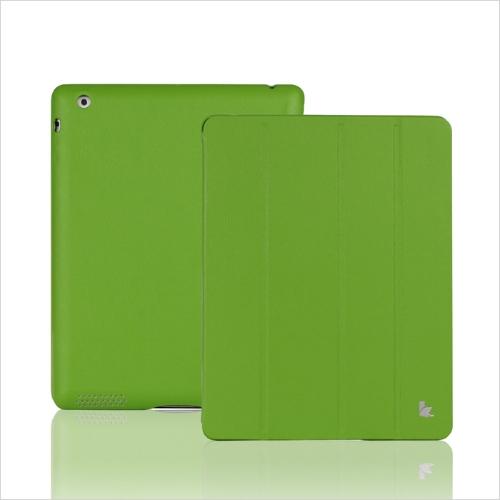 Tampa inteligente, protetor magnético caso defende novo iPad verde de Wake-up/sono de 4/3/2