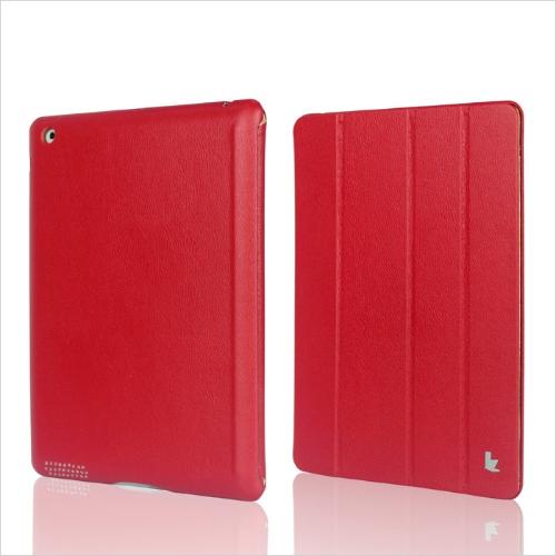 Inteligente capa protetora Case magnético defende novo iPad vermelho de Wake-up/sono de 4/3/2