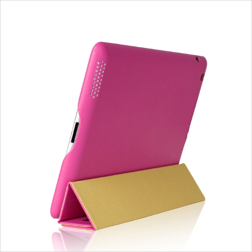 Smart-Cover-Protective-Case-Magnetic-Stand-for-New-iPad-432-Wake-upSleep-Rose