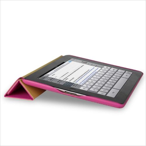 Smart Cover protection magnétique affaire Stand pour iPad nouvelle Rose de Wake-up/sommeil de 4/3/2