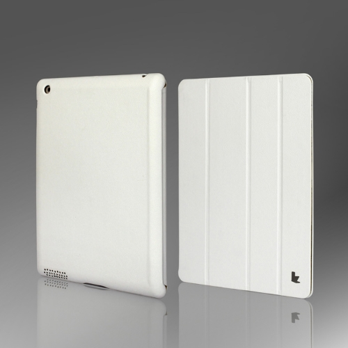 Smart-Cover-Protective-Case-Magnetic-Stand-for-New-iPad-432-Wake-upSleep-White