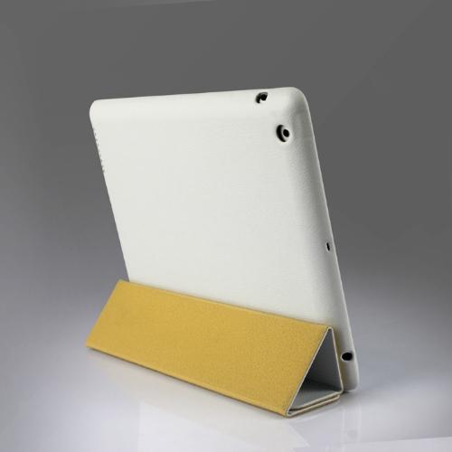Tampa inteligente, protetor magnético caso defende novo iPad branco de Wake-up/sono de 4/3/2