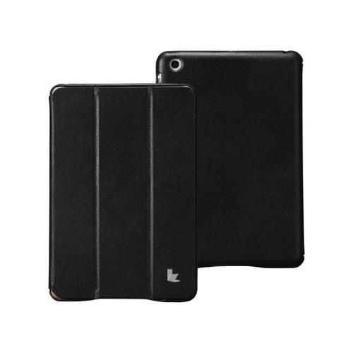 Sztuczna skóra magnetyczny Smart Cover Protective Case Stojak na iPad Mini Wake-up uśpienia ultracienkich czerni