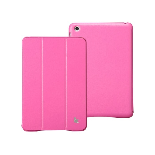 Leatherette-Magnetic-Smart-Cover-Protective-Case-Stand-for-iPad-mini-Wake-up-Sleep-Ultrathin-Red